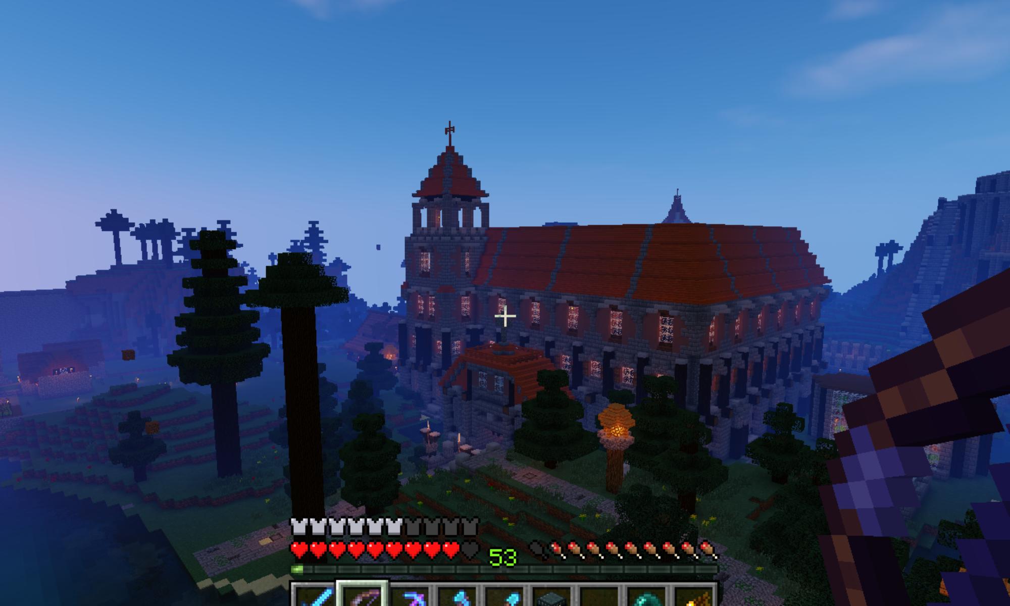 Hide Your Fire! Minecraft Civil Survival